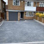 block paved driveway Warwickshire