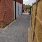 block paved path construction Balsall Common